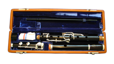 African Blackwood Flute with 9 keys
