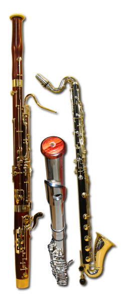 Bassoon, Bass Clarinet and Flute